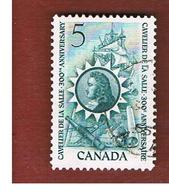 CANADA - SG 571   - 1966 CAVELIER DE LA SALLE   -  USED - Belize (1973-...)