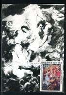 Haute Volta - Carte Maximum 1977 - Oeuvre De Rubens - Haute-Volta (1958-1984)