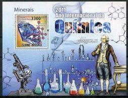 Guinea Bissau, 2011, International Chemistry Year, Minerals, United Nations, MNH, Michel Block 909 - Guinée-Bissau