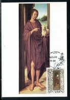 Saint Marin - Carte Maximum 1986 - Oeuvre De Hans Memling - San Marino