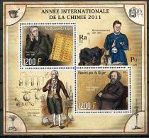 Niger, 2011, International Chemistry Year, Curie, United Nations, MNH Sheet - Niger (1960-...)