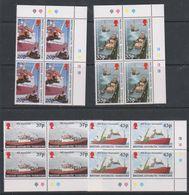 British Antarctic Territory 2000 Survey Ships 4v Bl Of 4 (corner) ** Mnh (39822D) - Ongebruikt