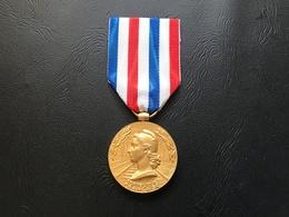 Medaille D'Honneur Des Cheminots 1953 Echelon Or - France
