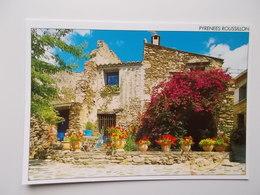 CPM- Message Du Sud - Pyrénées Rousillon, Maison Fleurie  -  NO REPRO - Autres Communes