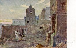 SOMALIE Italienne Nella SOMALIA Italiana - Marabutti Sulle Coste Presso Scingani Illustrato L Ajmone - Somalia