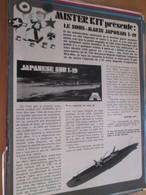 Page Issue De SPIROU Années 70 / MISTER KIT Présente : LE SOUS-MARIN JAPONAIS I-19 Par AURORA - Magazines