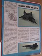 Page Issue De SPIROU Années 70 / MISTER KIT Présente : LE SAAB J35F DRAKEN Par AIRFIX - Magazines