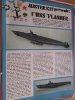 Page Issue De SPIROU Années 70 / MISTER KIT Présente : LE SOUS-MARIN USS FLASHER Par REVELL 1/79e - Magazines
