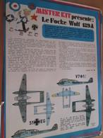 Page Issue De SPIROU Années 70 / MISTER KIT Présente : LE FOCKE-WULF FW 189A Par AIRFIX 1/72e - Magazines