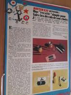 Page Issue De SPIROU Années 70 / MISTER KIT Présente : UNE RECETTE SIMPLE POUR FAIRE LES DECALS DE SON CHOIX - Magazines