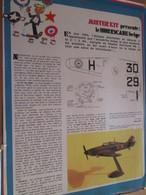 Page Issue De SPIROU Années 70 / MISTER KIT Présente : LE HURRICANE BELGE Par FROG 1/72e - Magazines