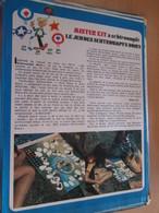 Page Issue De SPIROU Années 70 / MISTER KIT Présente : LE JEU DES SCHTROUMPFS NOIRS - Magazines