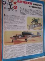 Page Issue De SPIROU Années 70 / MISTER KIT Présente : LE HEINKEL 162 VOLKSJAGER De FROG 1/72e - Magazines