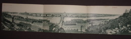HUNGARY - BUDAPEST -  TRIPLE CARD - VIEW - Hongrie