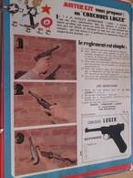 Page Issue De SPIROU Années 70 / MISTER KIT Présente : JEU CONCOURS SPECIAL LUGER - Magazines