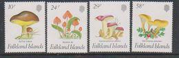 Falkland Islands 1987 Fungi 4v   ** Mnh (39825) - Falklandeilanden