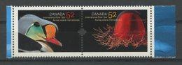 Canada, 2007, International Polar Year, Animals, Birds, United Nations, MNH, Michel 2391-2392 - Non Classés