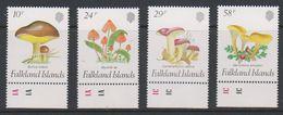 Falkland Islands 1987 Fungi 4v (+margin) ** Mnh (39825B) - Falklandeilanden