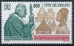 Mi 1128 MNH ** Pope John Paul II Travels To Benin Uganda Sudan Africa - Vatican