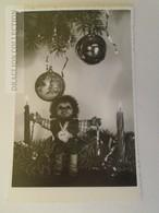 D160279 Old Photo - Mecki Under The Christmas Tree - Mecki