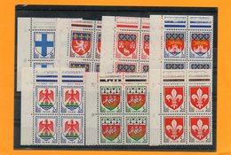 Série  N° 1180/86 En Bloc De 4 ( Coin De Feuille ) - Timbres