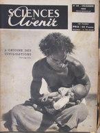 Revue Sciences Et Avenir N°46 (déc 1950) Jouets Scientifiques - Préhistoire Du Métro - Paris Souterrain Futur - Science