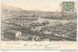 CPA RICORDO DI GENOVA - Panorama Da Villa Rosazza - Genova