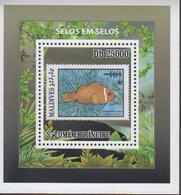 Sao Tome And Principe 2010 Stamps WWF 5 S/S - W.W.F.