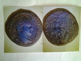 Sesterce De Caracalla Tête à Dr Rv / Securitati Perpetuae Assise A Droite - 4. Les Sévères (193 à 235)