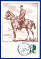 Carte Premier Jour / 50 Aire Mort Du Mal Lyautey  / Thorey / 8 Juillet 1984 - Maximum Cards