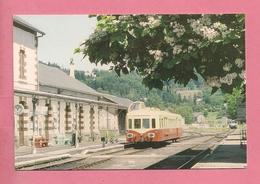 C.P. Bort-les-Orgues = TRAIN   L' X 4039 Stationne  En  Gare - Ussel