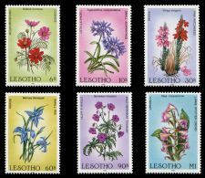 Lesotho 1985 Wildflowers. MNH - Lesotho (1966-...)