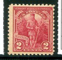 Michel 307 2c Karmin *  Yvert 271 - United States