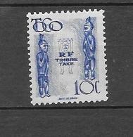 Timbres Taxe De 1947 : N°38 Chez YT. (Voir Commentaires) - Ungebraucht