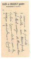 Vieux Papier Pub - Bard & Bezault Gendre, Rognonas - Publicités