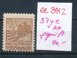 SBZ Nr 37ye Geprüft  ** ( Ee 3112  ) Siehe Scan ! - Sowjetische Zone (SBZ)