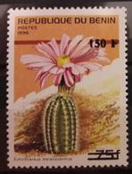 BENIN 1996 2000 - 349 MICHEL 1263 - CACTUS FLORE FLORA FLOWER - RARE MNH - Cactus