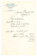 Vieux Papier Rognonas Roger Duret, Expert Comptable - 1950 - ...