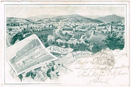 KANDERN 1904  Gasthof Blume Litho - Non Classés