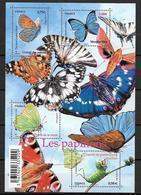 France 2010 Bloc Feuillet F4498 Neuf Papillons à La Faciale - Blocs & Feuillets