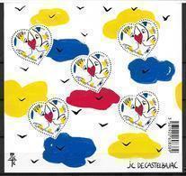 France 2015 Bloc Feuillet N° 136 Neuf Saint Valentin JC De Castelbajac à La Faciale - Blocs & Feuillets