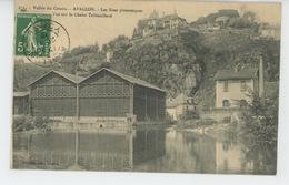AVALLON - Vue Sur Le Chalet Tribouillard - Avallon