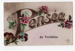 Une Pensée De VERLAINE - Verlaine