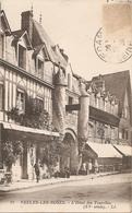 76  Seine Maritime  :  Veules Les Roses L'hôtel Des Tourelles        Réf 4628 - Veules Les Roses