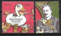 France 2014 N° 4866/4867 Neufs Issus Du Bloc Benjamin Rabier Sous Faciale - Unused Stamps