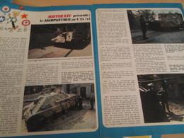 Page Issue De SPIROU Années 70 / MISTER KIT Présente : DOUBLE PAGE / LE JAGDPANTHER Au 1/25e Par TAMIYA - Revues