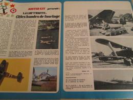Page Issue De SPIROU Années 70 / MISTER KIT Présente : DOUBLE PAGE / LA LUFTWAFFE (2) LES BANDES DE FUSELAGE - Revues