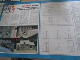 Page Issue De SPIROU Années 70 / MISTER KIT Présente : DOUBLE PAGE / COMMENT REALISER FACILEMENT UN DECOR DE DIORAMA - Magazines