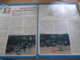 Page Issue De SPIROU Années 70 / MISTER KIT Présente : DOUBLE PAGE / GERMAN 88 MM FLAK GUN Par TAMIYA 1/35e - Magazines