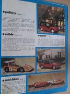 Page Issue De SPIROU Années 70 / MISTER KIT Présente : DOUBLE PAGE / MINI BOLIDES DINKY NOREV SOLIDO MATCHBOX - Revues